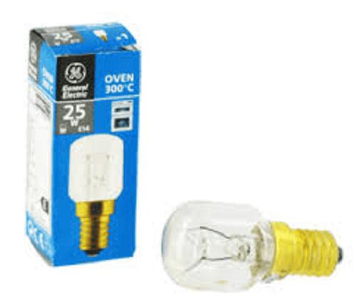 Oven Lamp/Bulb E14, 300DEG G&E (25W)