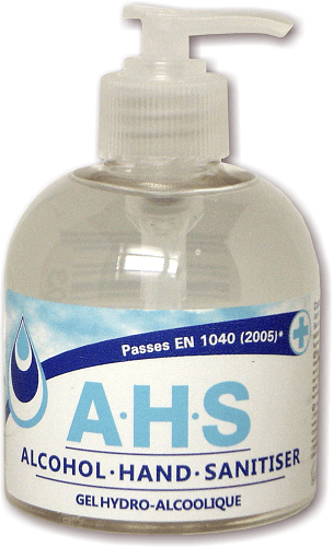 A.H.S ALOCOHOL HAND SANITISER 300ML