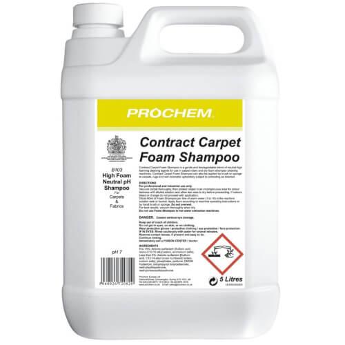 Contract Carpet Foam Shampoo 5L