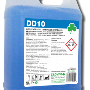 DD10 CONCENTRATED DETERGENT DEGREASER 5L