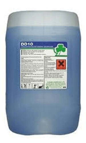 DD10 CONCENTRATED DETERGENT DEGREASER 20L