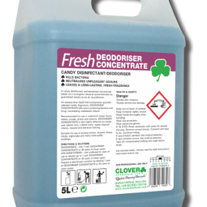 FRESH DEODORISER CONCENTRATE CANDY DISINFECTANT 5L