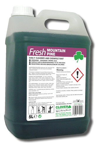 FRESH MOUNTAIN PINE DAILY CLEANER & DISINFECTANT 5L