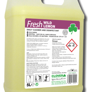 FRESH WILD LEMON DAILY CLEANER & DISINFECTANT 5L