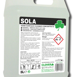 SOLA UNIVERSAL HARD SURFACE CLEANER CONCENTRATE 5L