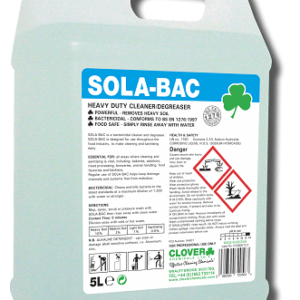 SOLA BAC HEAVY DUTY BACTERICIDAL CLEANER 5L