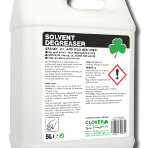 SOLVENT DEGREASER, GREASE, OIL AND WAX REMOVER 5L