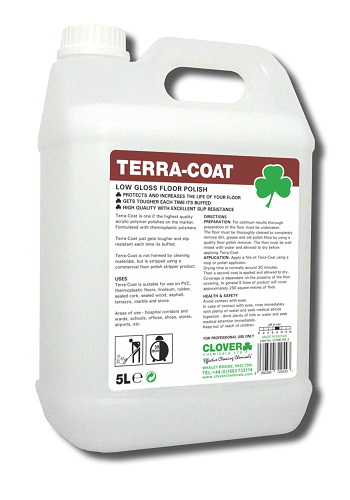 Terra-Coat Low GloSs Floor Polish 5L