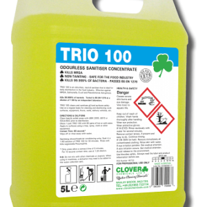 TRIO 100 SANITISER CONCENTRATE 5L