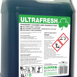 ULTRA FRESH CLEANER DISINFECTANT 5L