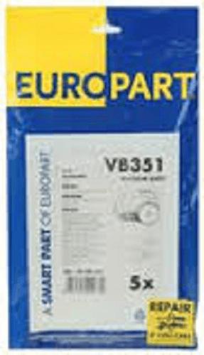 Bosch Type D,E,F,G,H Activa, Alpha Paper Vacuum Bags (x5 PACK)