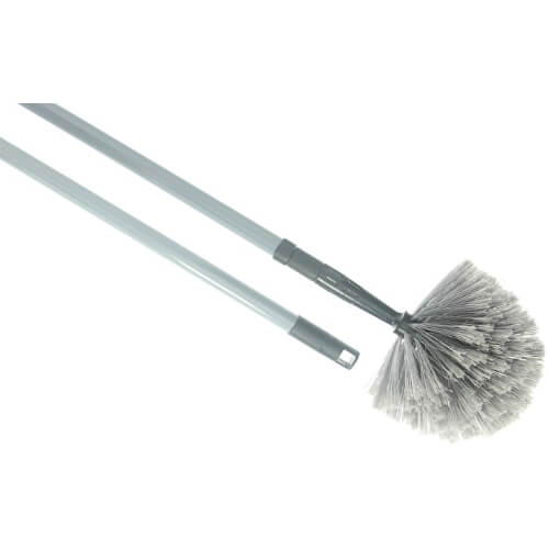 Domed Cobweb Duster with Extendable Handle