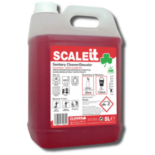 Scaleit Sanitary Cleaner and Descaler Clover 5L